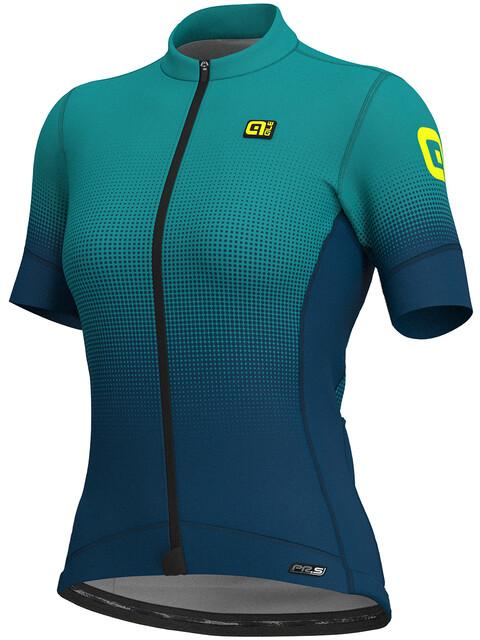 Alé Cycling PRS Dots SS Jersey Women petroleum-turquoise